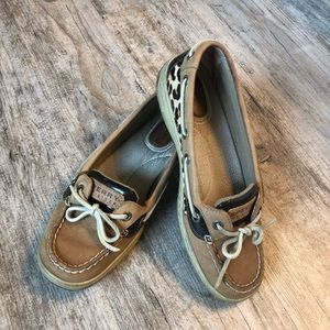 Sperry Top-Sider | Leopard Slip-On Boat Shoe